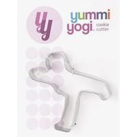 Yoga Cookie Cutter - Warrior 3