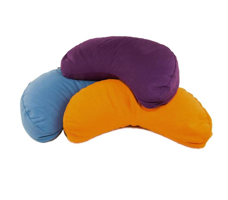 Meditation Cushion Half Moon - Orange