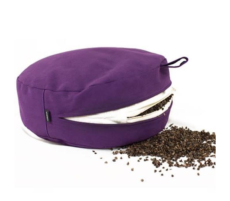 Meditationskissen Halbmond - Violett