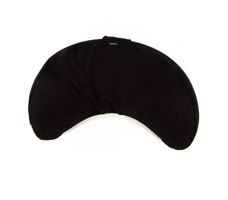 Meditation Cushion Half Moon - Black
