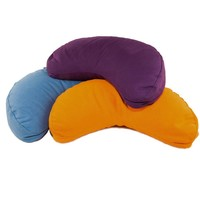 Meditation Cushion Half Moon - Burgundy