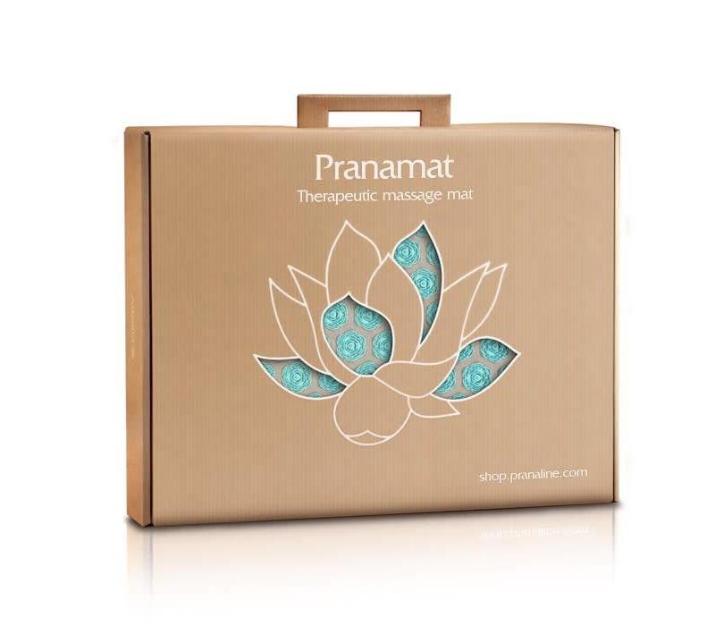 Pranamat Eco Mini - Naturel/Turquoise