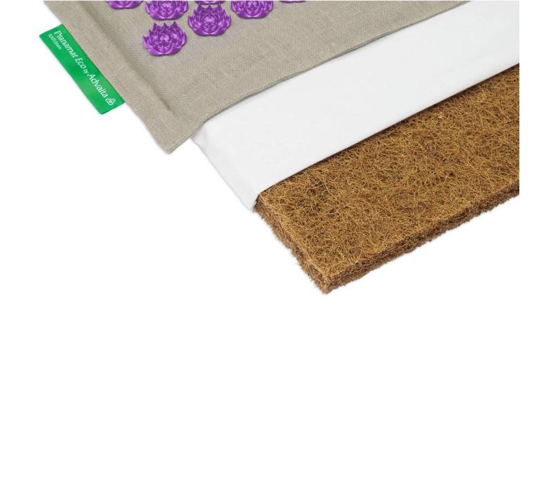Pranamat Eco Mini - Naturel/Violet