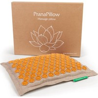 PranaPillow - Naturel/Oranje