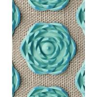 PranaPillow - Naturel/Turquoise