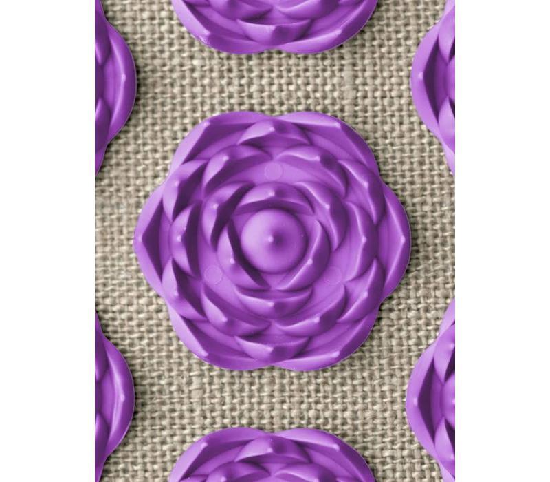 Prana Pillow - Natural/Violet