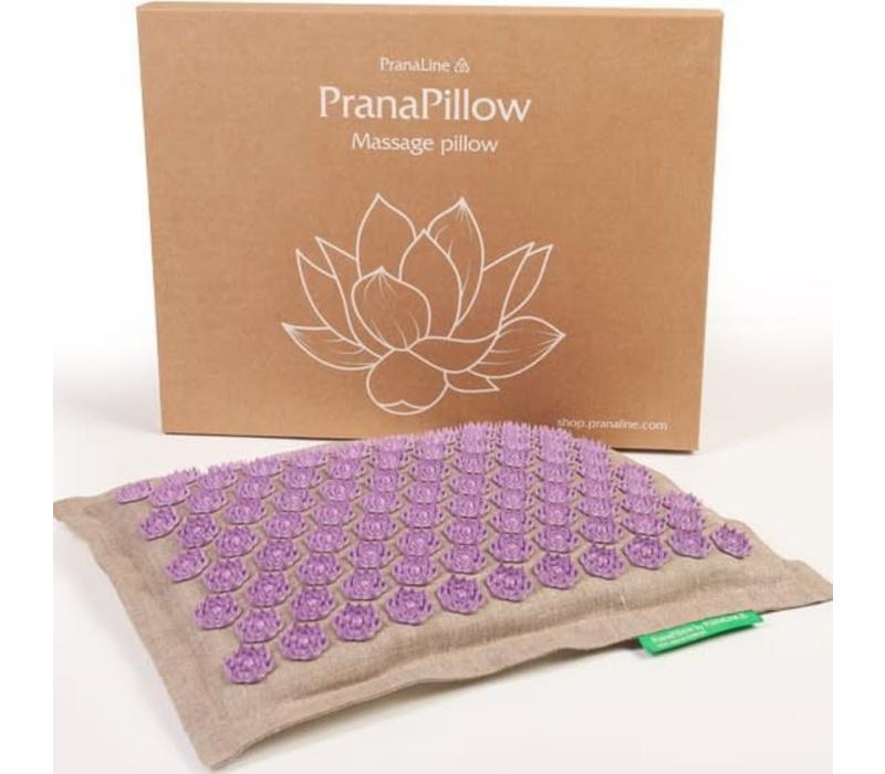 PranaPillow - Naturel/Violett