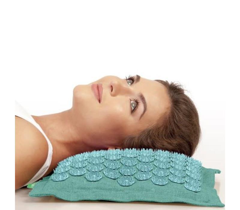 Prana Pillow - Turquoise/Turquoise