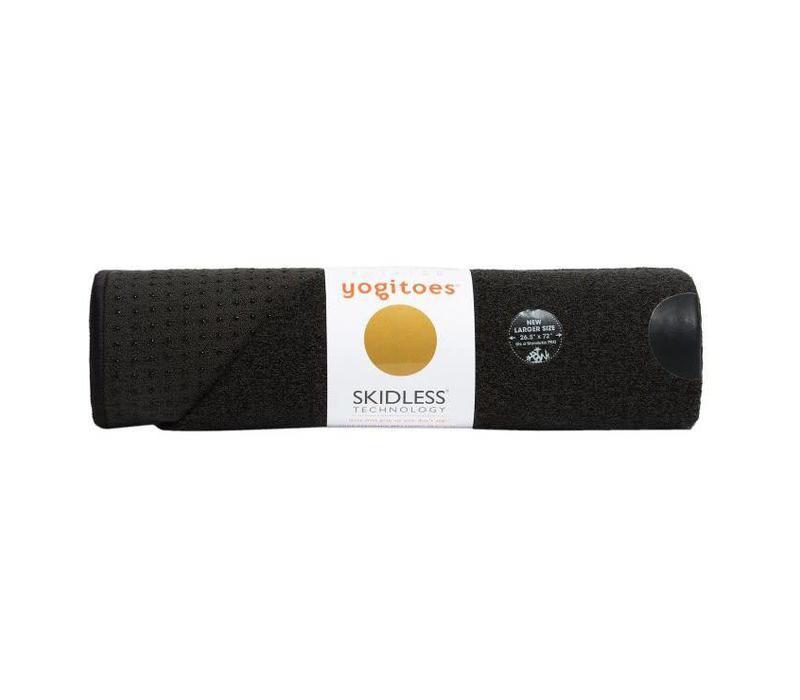 Yogitoes Yoga Handtuch 172cm 61cm - Onyx
