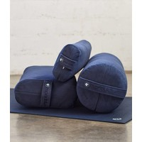Manduka Yoga Bolster Lean - Midnight