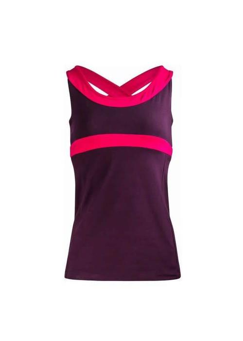 Asquith Asquith Shape Me Vest - Aubergine