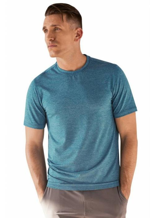 Manduka Manduka Cross Train Tee - Heather Maldive