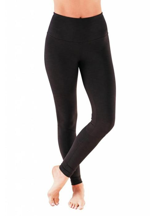 Manduka Manduka The High Line Leggings - Black Jersey
