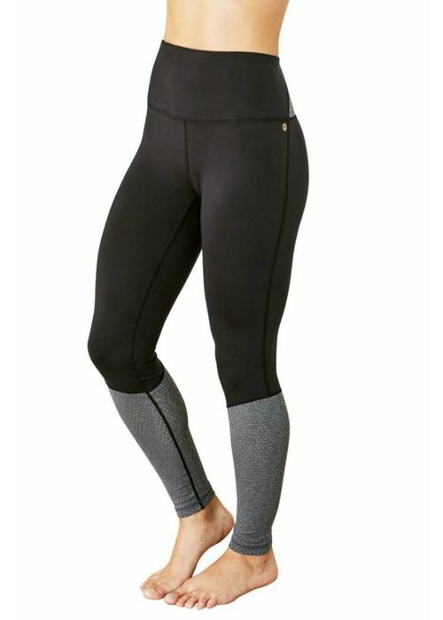 Manduka Manduka The High Line Leggings - Black Grey