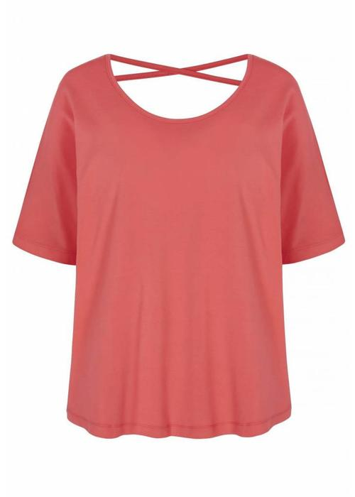 Asquith Asquith Criss Cross Tee - Coral