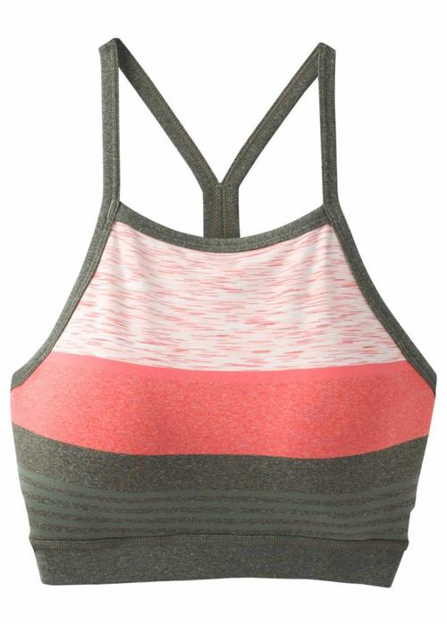 PrAna PrAna Alois Bralette - Forest Heather Stripe