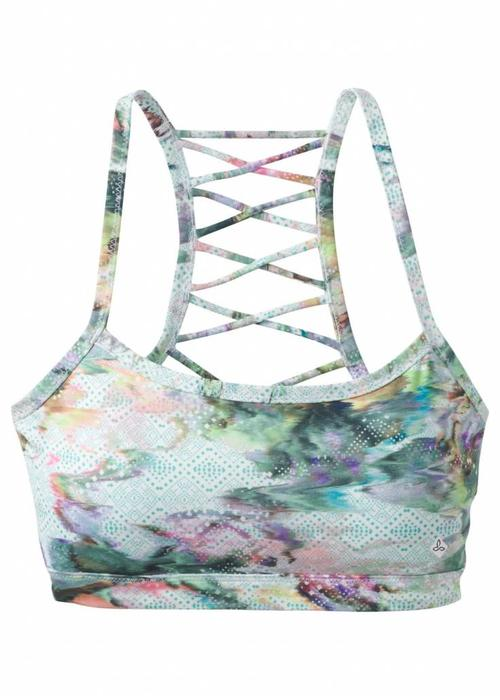 PrAna PrAna Isaline Bra - White Graceful