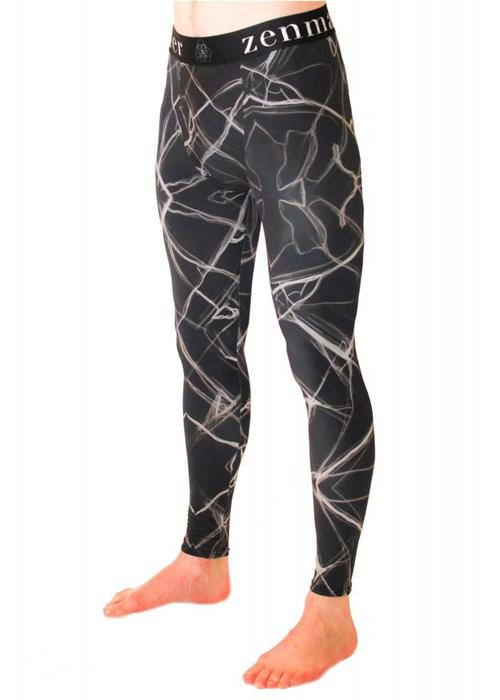 Zen By Sen Zen By Sen Men's Leggings - Marble
