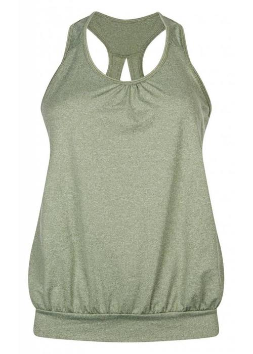 Tame The Bull Tame The Bull Over The Top Yogavest - Olivine Melee