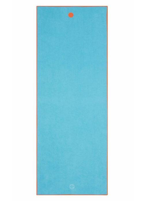 Yogitoes Yogitoes Yoga Handdoek 183cm 67cm - Chakra Turquoise