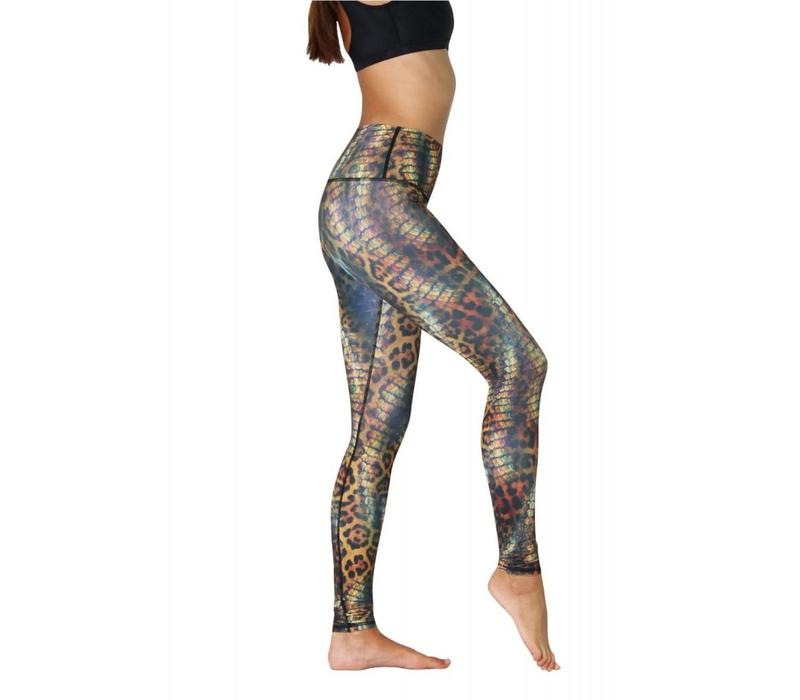 Yoga Democracy Yoga Legging - Animal