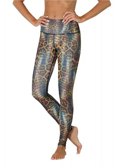 Yoga Democracy Yoga Democracy Yoga Legging - Animal