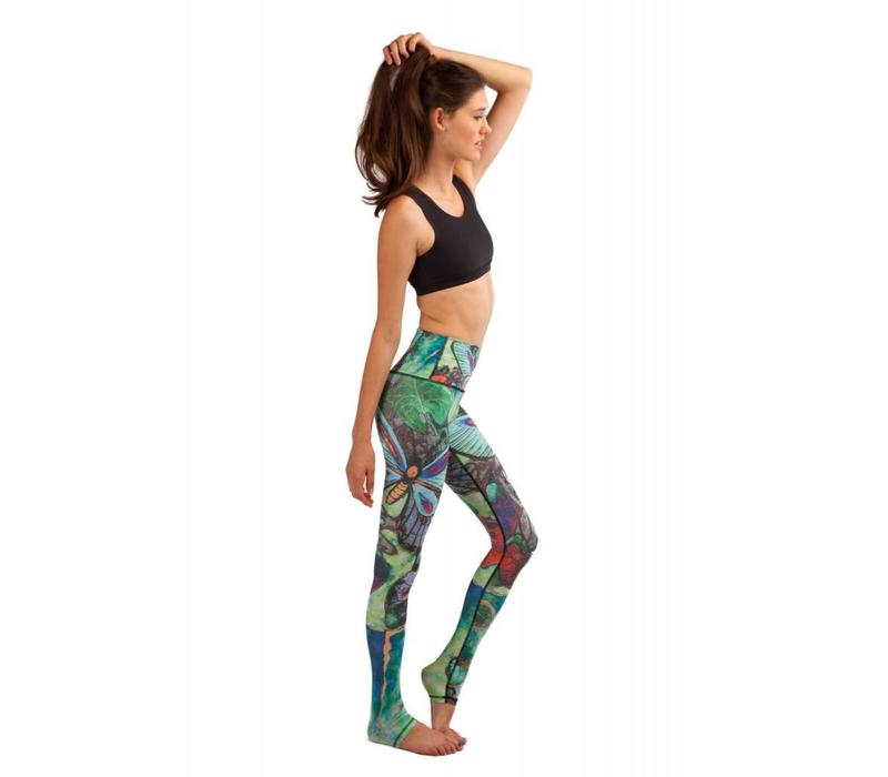 Yoga Democracy Yoga Legging - Butterfly