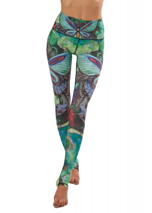 Yoga Democracy Yoga Democracy Yoga Legging - Butterfly