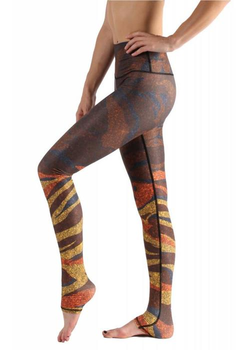 Yoga Democracy Yoga Democracy Yoga Legging - Mineral Spirits