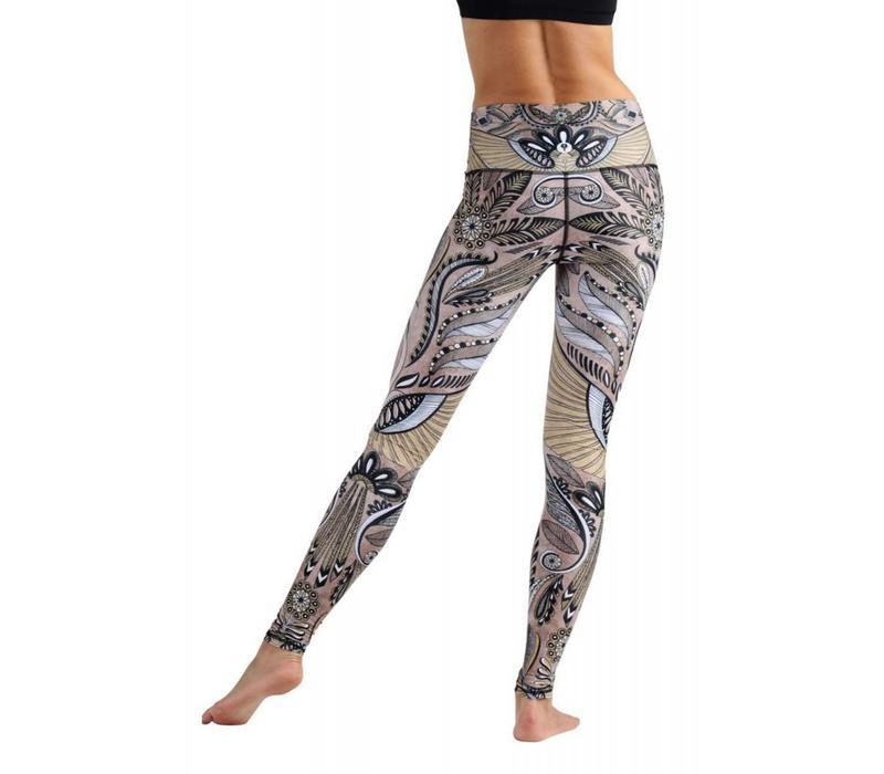 Yoga Democracy Yoga Legging - Desert Goddess