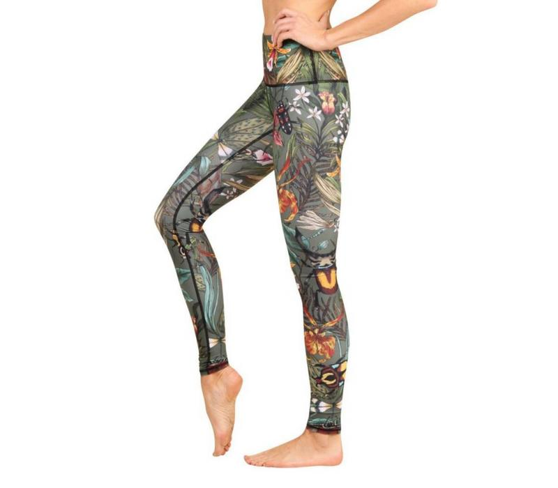 Yoga Democracy Yoga Legging - Green Thumb
