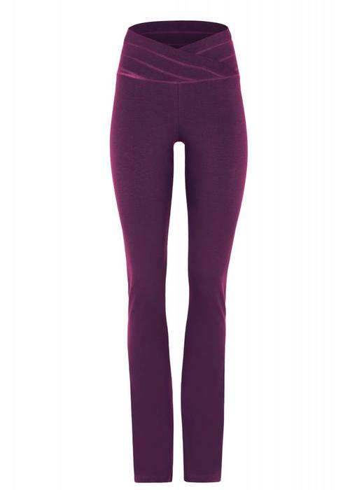 Mandala Mandala Roll Over Pants - Purple
