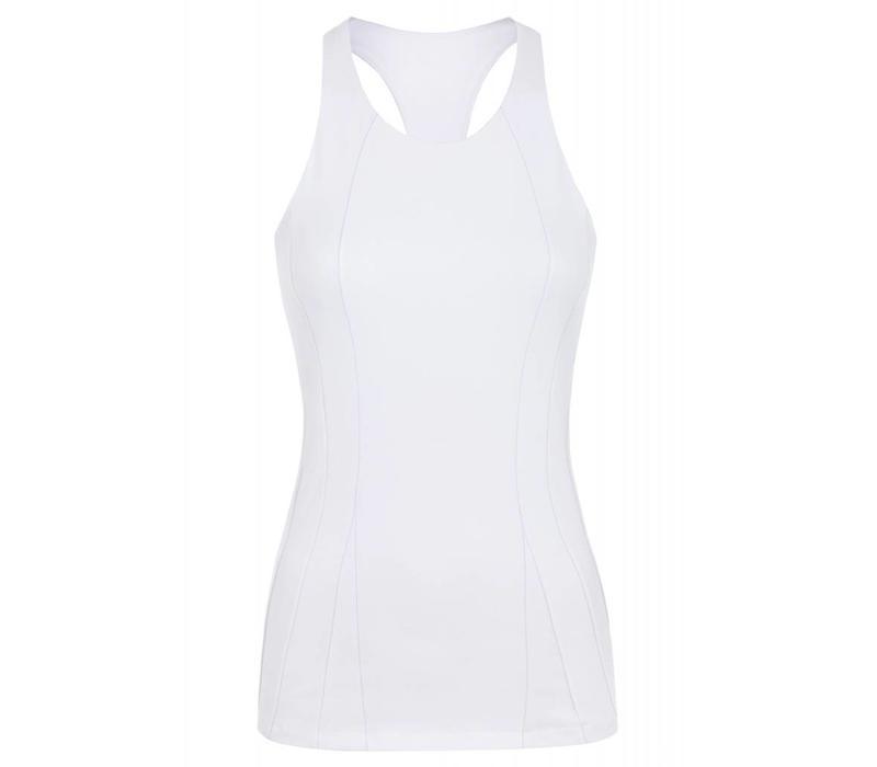 Mandala Slim Top - White