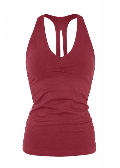 Mandala Mandala V-Neck Tank - Rumba Red