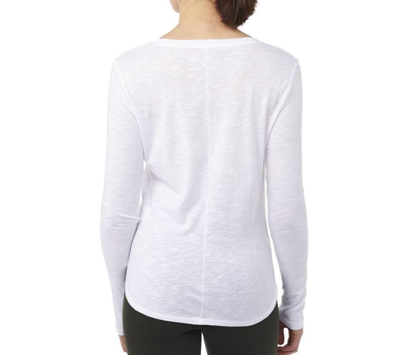 Mandala Cozy Long Sleeve - White