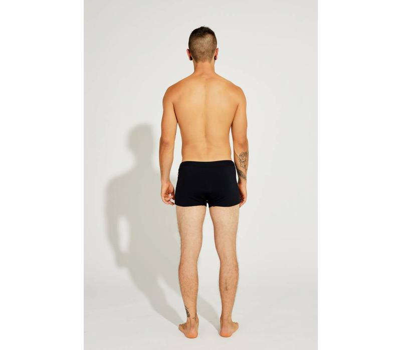 Shakti Activewear Brazilian Trunks - Schwarz