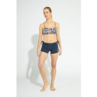 Shakti Activewear Side String Shorts - Navy