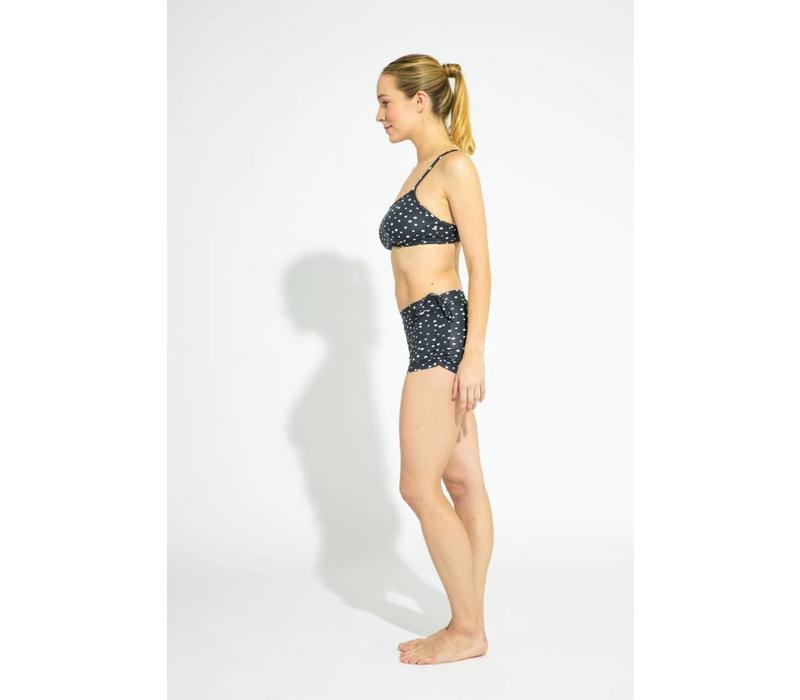 Shakti Activewear Side String Shorts - Polka Dot