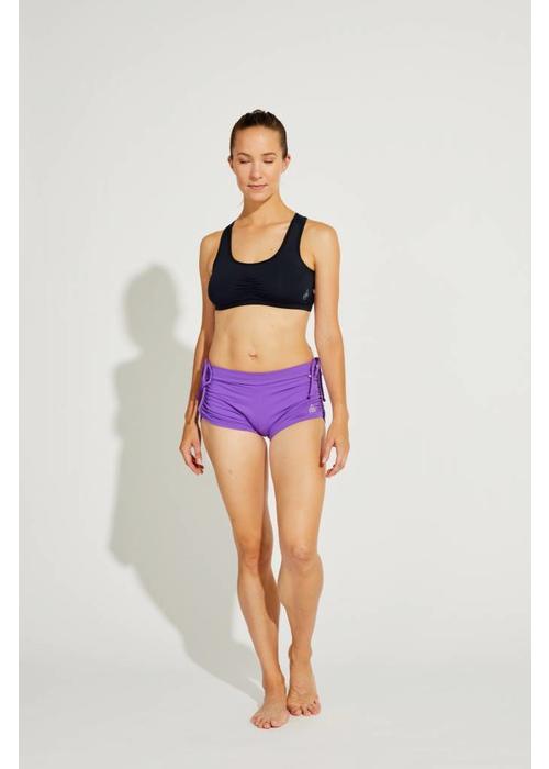 Shakti Activewear Shakti Activewear Side String Shorts - Lilac