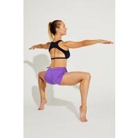 Shakti Activewear Side String Shorts - Lilac