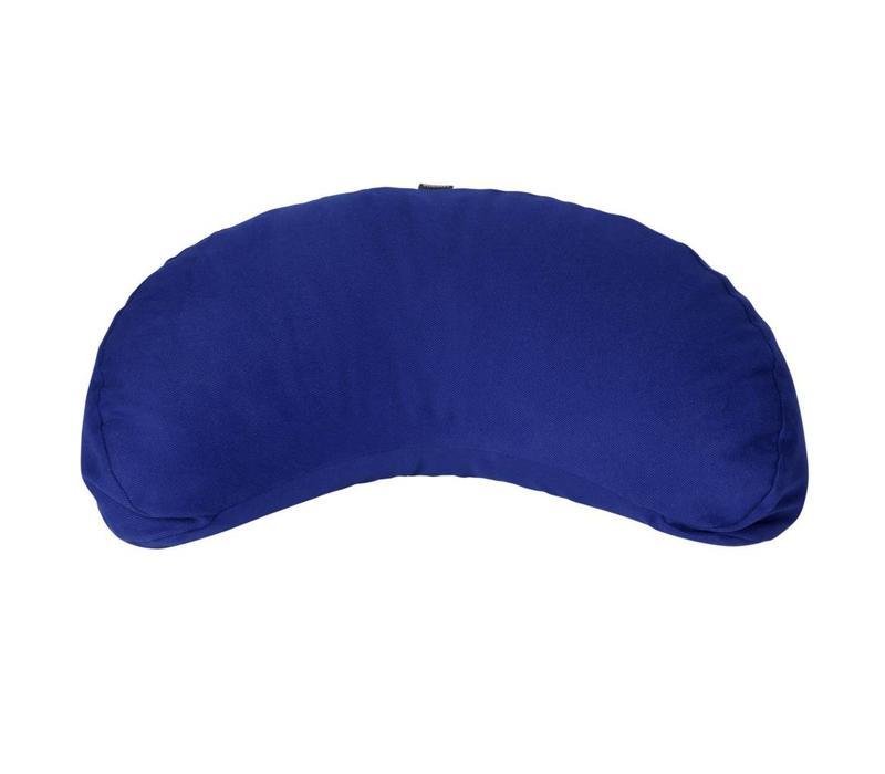 Meditation Cushion Half Moon - Dark blue