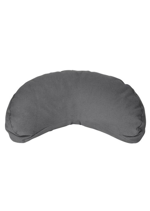 Yogisha Meditation Cushion Half Moon - Grey