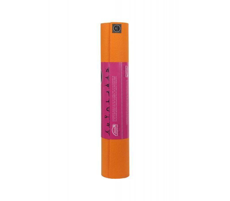 Studio Yogamat 183cm 60cm 4.5mm - Oranje
