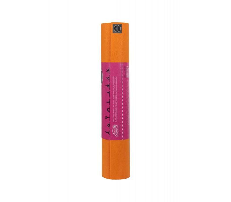 Studio Yogamat 200cm 60cm 4.5mm - Oranje