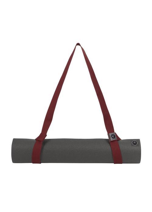 Yogisha Yoga Mat Strap Organic Cotton - Burgundy