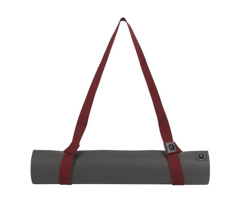 Yogisha Yoga Mat Strap - Burgundy