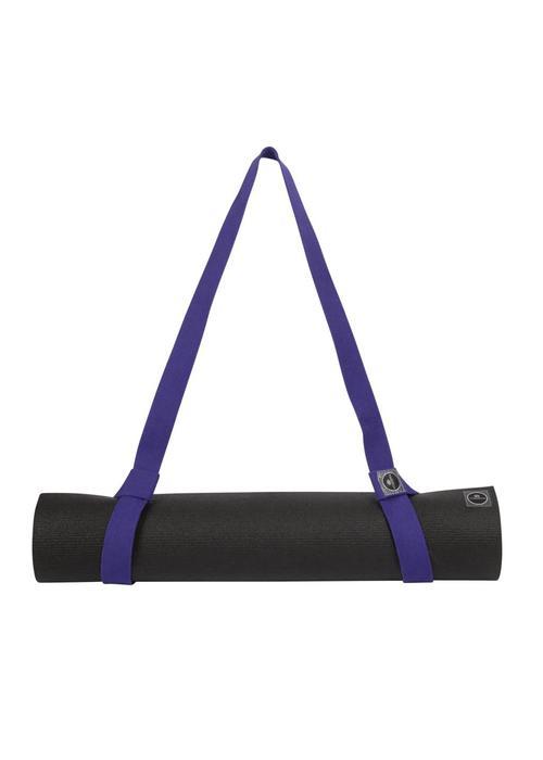 Yogisha Yoga Mat Strap Organic Cotton - Purple