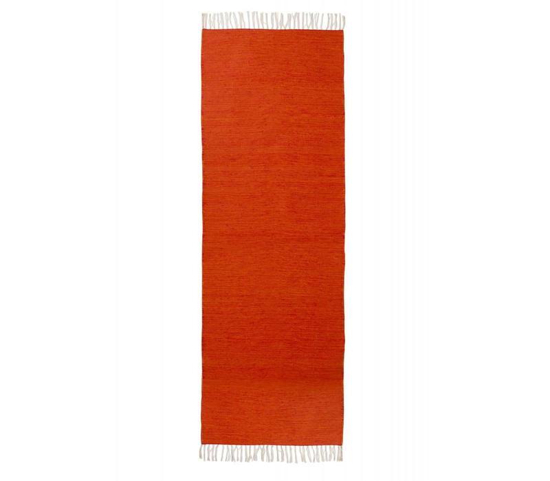 Yogamat Katoen 200cm 65cm 2mm - Oranje