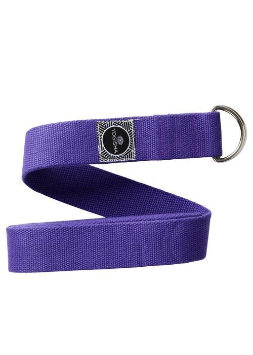 Yogisha Yoga Gurt Bio-Baumwolle - Violett