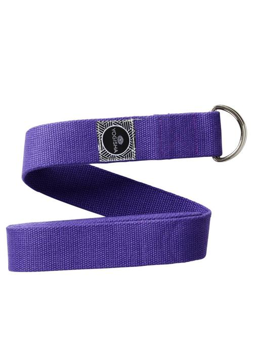 Yogisha Yoga Strap Organic Cotton - Purple